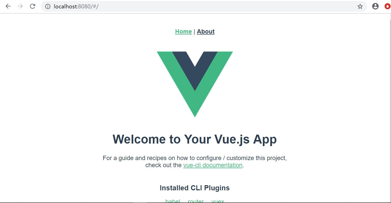 Vue-cli4脚手架搭建