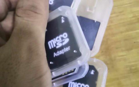 将被手机店淘汰的产物(TF卡套)